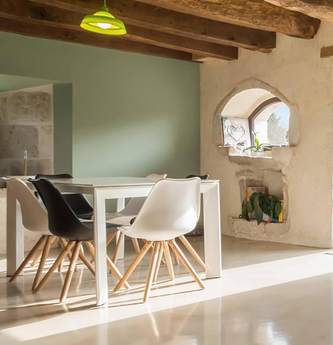 Intérieur maison luxueuse